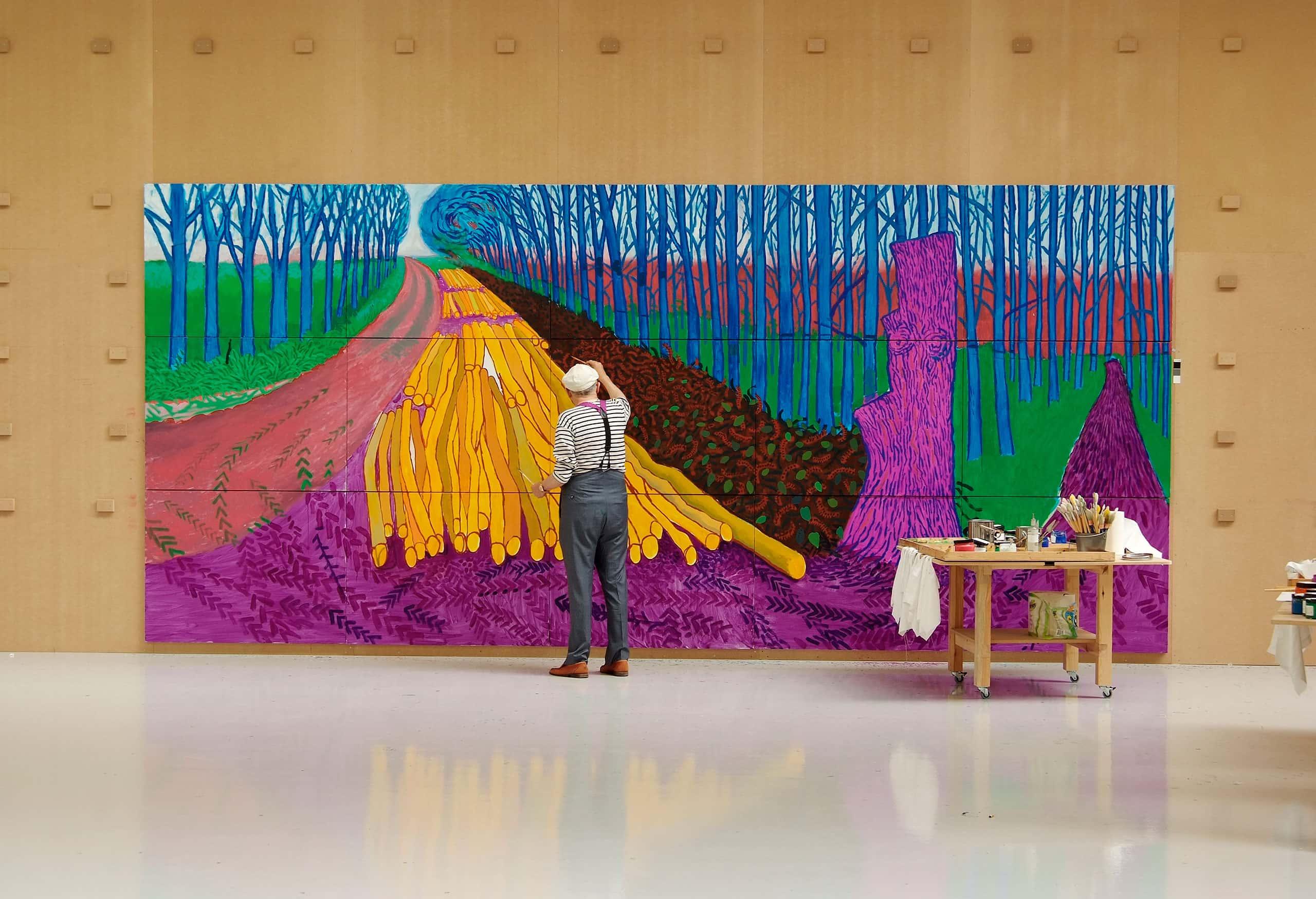 TPS Exhibition on Screen David Hockney